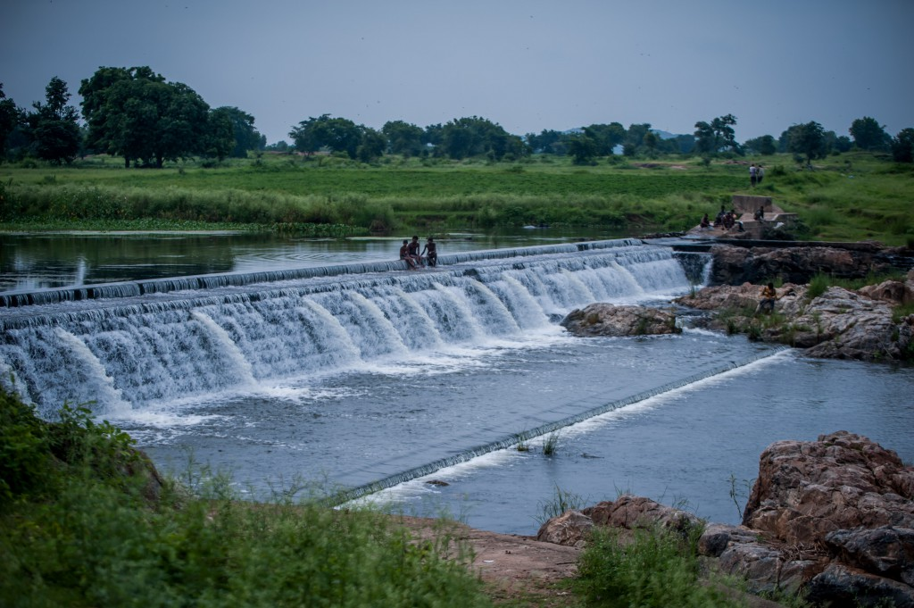 Check dams enhance the natural resource base
