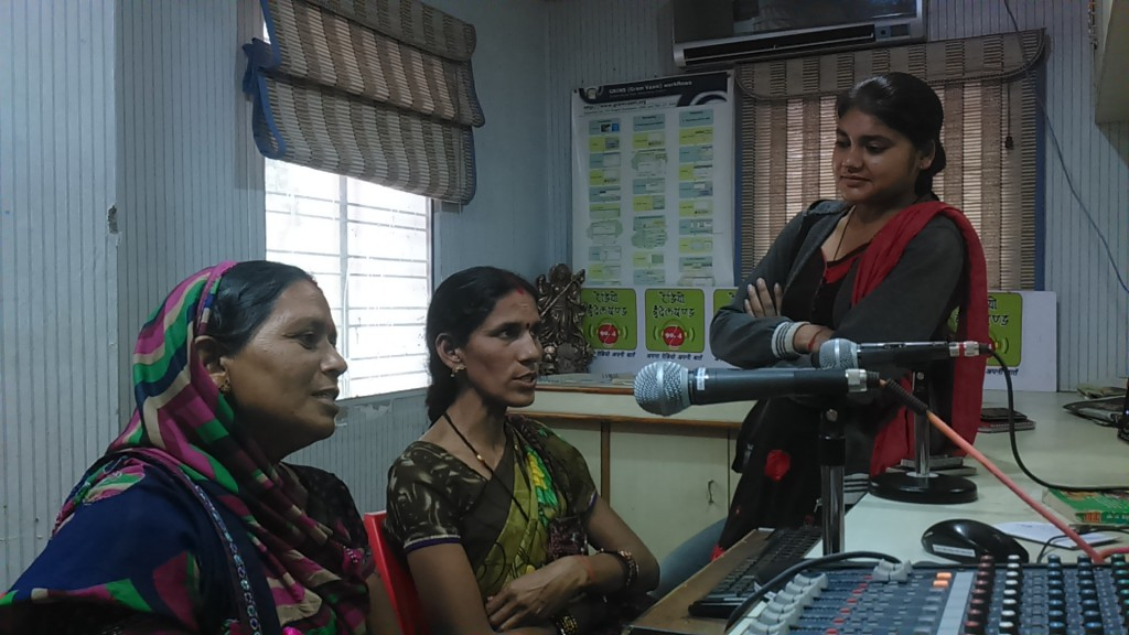 Programme Broadcasting at Radio Bundelkhand