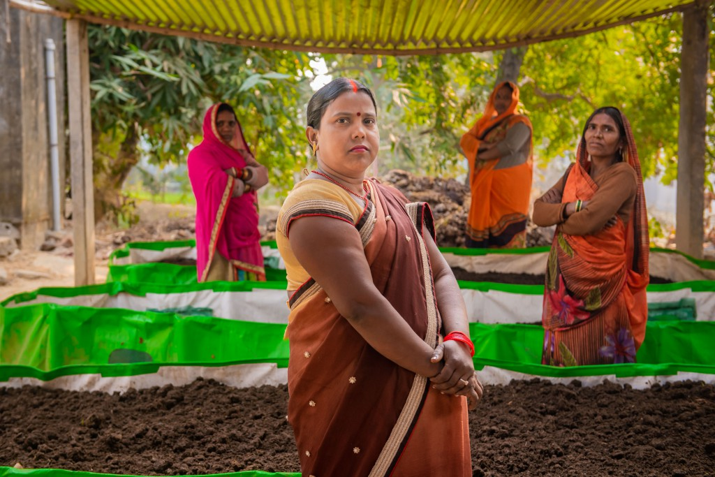 "Asha Devi, a middle aged woman entrepreneur from Dhannipatti village in Uttar Pradesh, who has never ""worked"" professionally in her life before, set-up a vermi-composting unit"