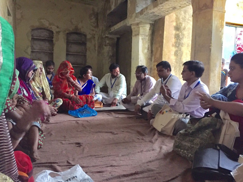 Women of Punawli Kalan village share the benefits of forming SHGs