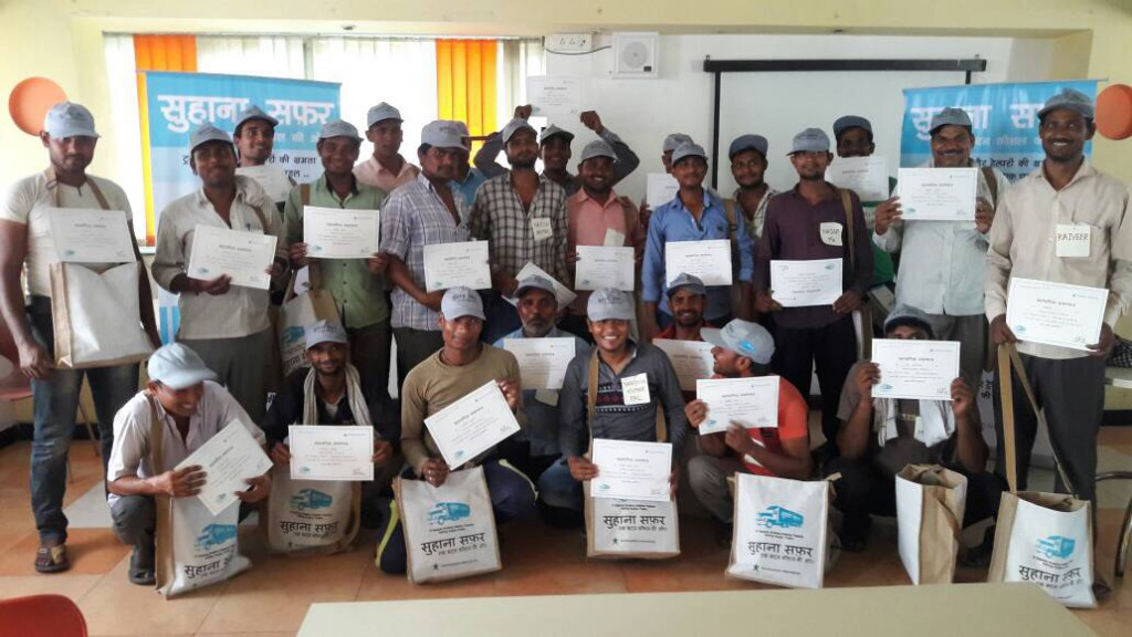 'Suhana Safar' - Training and Awareness Programme for Truck Drivers