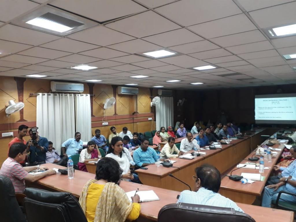 Work 4 Progress Coalition Launch Event, Mirzapur, Uttar Pradesh